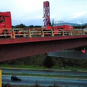 Bridge inspection platform