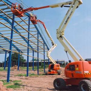 Articulating / Articulating Telescopic platform lifts
