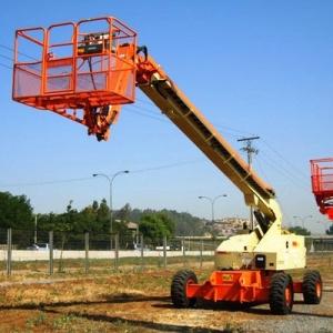 Telescopic aerial access platforms